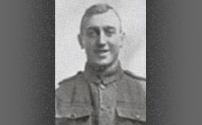 Private John George Burns, 9th Bn Cameronians (Scottish Rifles)
