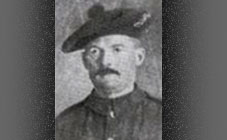 Private Peter Murray, 4/5th Bn Black Watch